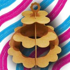 Bases para Ponquesitos / Cupcakes en MDF 3 mm