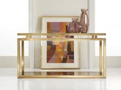 Shop the Stacked Console Table at Perigold, home to the design world's best furnishings for every style and space. Plus, enjoy free delivery on most items. Traditional Furniture, Contemporary Furniture, Luxury Furniture, Living Room Furniture, Home Furniture, Living Rooms, Modern Console Tables, End Tables With Storage, Modern History