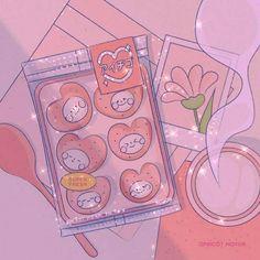 Cute Patterns Wallpaper, Cute Anime Wallpaper, Cute Cartoon Wallpapers, Animes Wallpapers, Arte Do Kawaii, Kawaii Art, Kawaii Anime, Aesthetic Themes, Aesthetic Art
