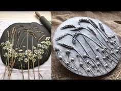Fields of Gold / home art decor tutorial/ diy wall decor by KLEVER - YouTube