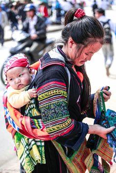 #sapa #vietnam #mother #busymother