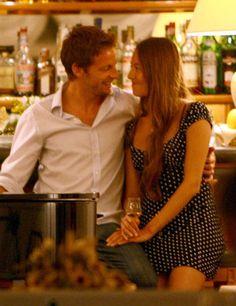 Jessica Michibata and Jenson Button