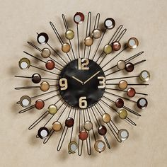 Cosmic Firestorm Wall Clock    $56.75