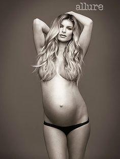 Pregnant Marisa Miller Poses Nude