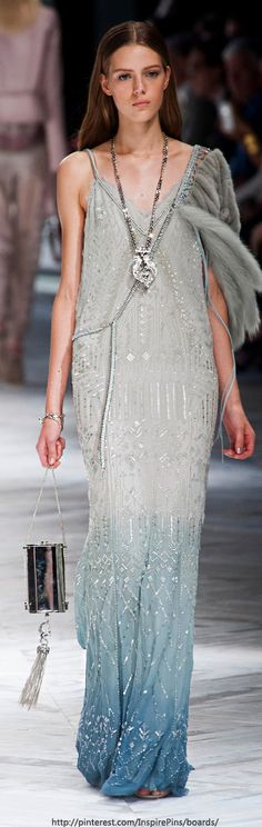 Milan Spring 2014 - Roberto Cavalli - inspiration from blossomgraphicdesign.com #boutiquedesign