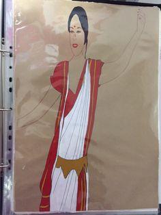 Final Illustration - Acrylic paint - Bengal (East India)