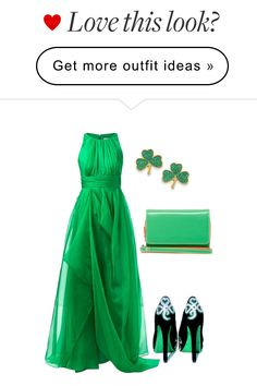 """""""""""HAPPY ST PATRICK'S DAY TO ALL MY FRIENDS XX"""" by chris-hawkins on Polyvore"""