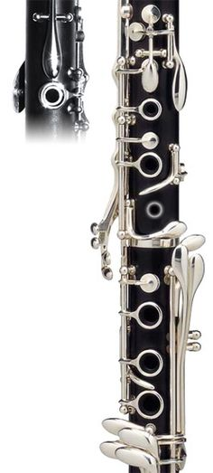 Online Interactive Clarinet Fingering Trainer // Highlight the correct fingering for a note and then answer a question about its tuning tendency for extra credit!