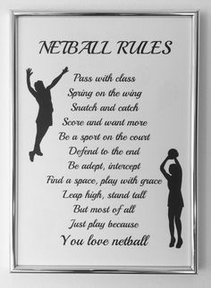 Designerpoems shared a new photo on Etsy Netball Quotes, Volleyball Quotes, Coaching Volleyball, Sport Quotes, Volleyball Drills, Volleyball Gifts, Softball Players, Girls Softball, Girls Basketball