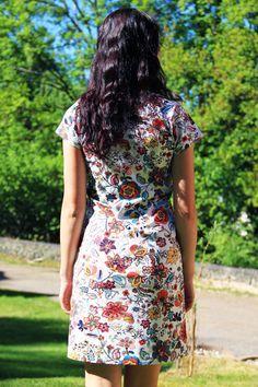 Short Sleeve Dresses, Dresses With Sleeves, Fashion Dresses, Sewing, Crafts, Fashion Show Dresses, Dressmaking, Manualidades, Sleeve Dresses