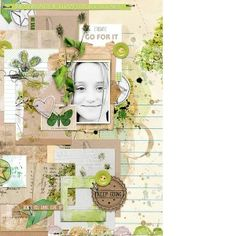GO FOR IT - DIGITAL LAYOUT | Froggy Friday new releases | 20% sale 27-29 Jan at The Lilypad Never Give Up {Bundle} by Little Butterfly Wings & Dawn Inskip http://the-lilypad.com/store/Never-Give-Up-Bundle.html