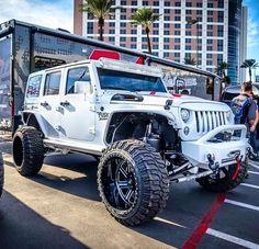 Jeep Wrangler Unlimited, Wrangler Rubicon, Jeep Wrangler Sport, Hummer, Jeep Carros, White Jeep, Badass Jeep, Custom Jeep, Cool Jeeps