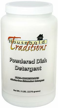 Tropical Traditions Dishwasher Detergent Giveaway!