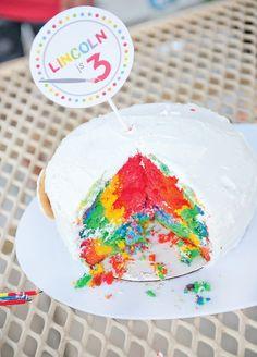 Spectacular Rainbow Paint Party {Kids Birthday}