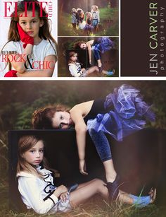 Jen Carver Photography Published in Elite Child Magazine