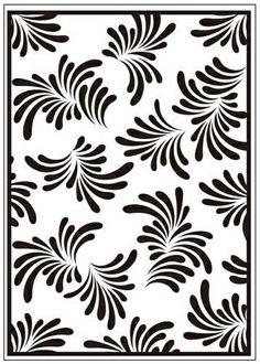 CTFD3053  Folder do embossingu (10.5 x 15cm)  - Petals