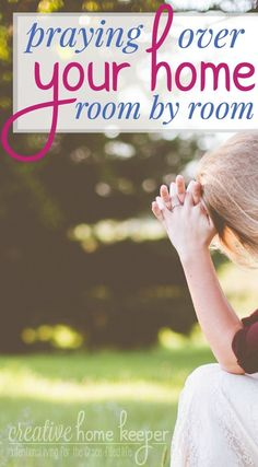 Praying over your home is an important part of our prayer lives. These ready-to-go prayer prompts will guide you as you pray, room by room, throughout your entire house!