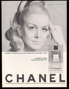 1967 Chanel No.5 Eau de Cologne Every Woman Alive Wants Chanel No.5 photo ad