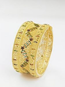 How to Make Bangle Bracelets Using UTEE, or ultra-thick embossing powder