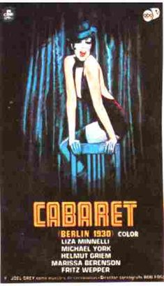 46.  Cabaret (10/20/13).  I've never actually seen this movie.  Enjoyed it a lot, though questioning a bit how Joel Grey won the Oscar over everyone in The Godfather.