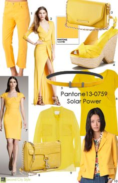 How to Wear It: Bright Colors (Yellow).