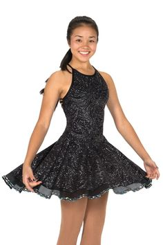 Silverstep Dance Dress [Jerrys 129 C] - $164.98 : Figure Skating Boutique, Where the Champions Shop