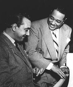 Django Reinhardt and Duke Ellington