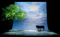 Tuesdays with Morrie. Geva Theatre Center. Scenic design by Vicki Smith.