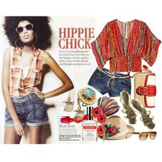 i'm HIPPIE today :), created by hanum on Polyvore