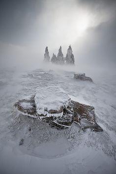 terres glacées:vincent favre