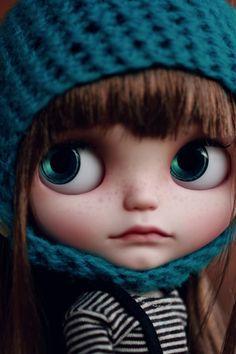 Rita Nomad, Vainilladolly Blythe doll Custom OOAK
