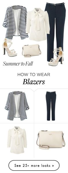 """""""Sans titre #190"""" by prettyangel-1 on Polyvore featuring WithChic, Warehouse, PYRUS and Kate Spade"""