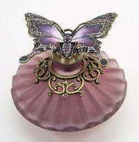 Passiflora Purple Perfume Bottle.