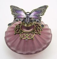 Passiflora Purple Perfume Bottle.