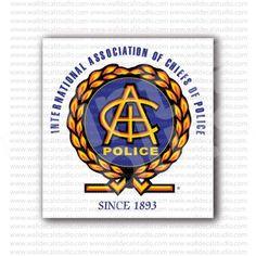 IACP International Chiefs Police Sticker
