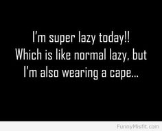 @Heather Nielsen wish we had actually worn a cape all those days...