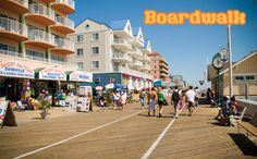 Maryland - Ocean City all my summers growing up this is where we went even had senior week there.............