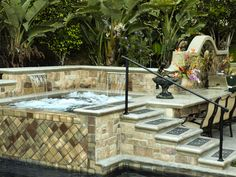 Separate Spa - Swimming Pool Spas on HGTV