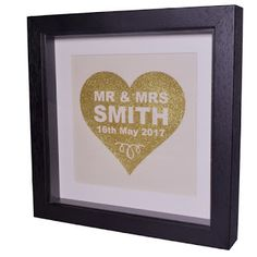 Little England Designs: Personalised Wedding Frame for the BRIDE & GROOM.....
