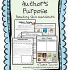 Author's Purpose (Handouts) Here are 12 fun and engaging handouts to reinforce the skill of author's purpose. This resource can be used to guide whole or small group instructi. Comprehension Activities, Reading Comprehension, The Big Read, Authors Purpose, School Fun, School Stuff, Mentor Texts, Reading Skills, Literacy Centers