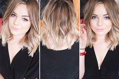 Thinking of trying a brown to medium blonde ombré