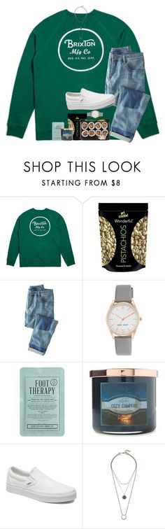 """Lunch date with my dad"" by lindonhaley ❤ liked on Polyvore featuring Wrap, Nine West, Kocostar, Carolina Candle, Vans and Lucky Brand"