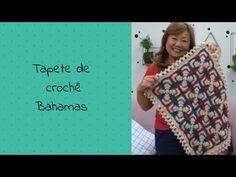 Tapete de crochê Bahamas - YouTube Crochet Flower Squares, Crochet Granny, Crochet Flowers, Mosaic, Projects To Try, Make It Yourself, Knitting, Youtube, Crafts
