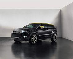 Foto Exteriores (2) Land Rover Evoque Sicilian yellow Suv Todocamino 2013 -Black car
