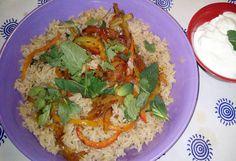 Una versión personal del arroz con cocacola.