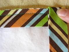 My Sweet Prairie: Tips on Tuesdays! -> Binding