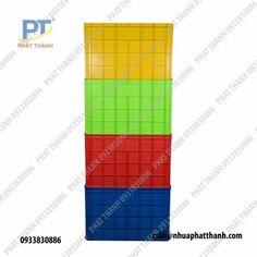Thùng nhựa đặc (sóng nhựa bít) là loại thùng nhựa với thiết kế dạng hình chữ nhật, hình vuông. Bề mặt các loại thùng nhựa đặc thường là bề mặt kín. #nhuaphatthanh #thungnhuadac
