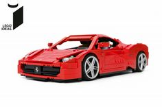 Ferrari 458 Italia | LEGO Ideas Project