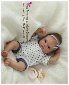 Vinnie Reborn Doll Kit Requires assembly by ValsLittleCherubs