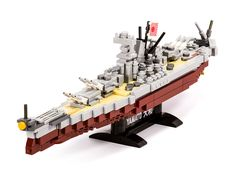 The latest of may 1/700 scale micro battleships.